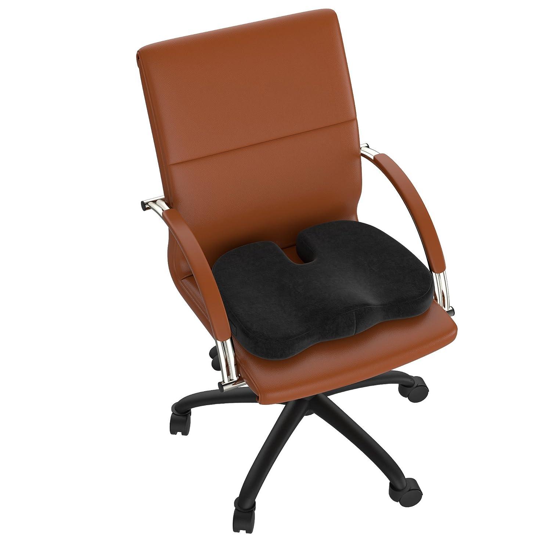 Orthopädisches Sitzkissen für den Bürostuhl