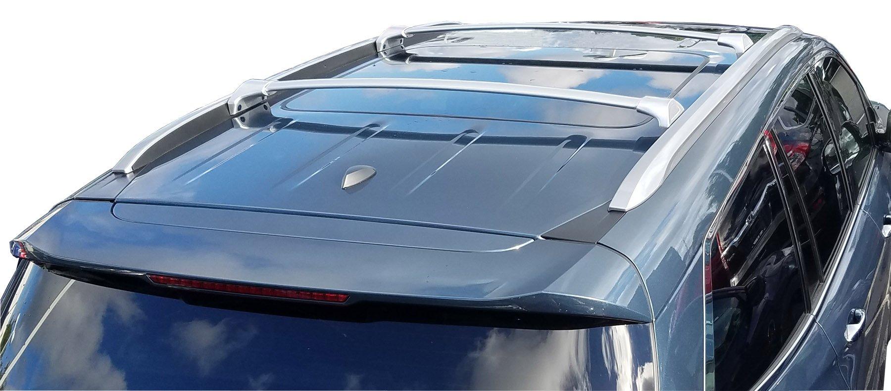 BRIGHTLINES 2016-2019 Honda Pilot Crossbars Roof Racks (Silver)