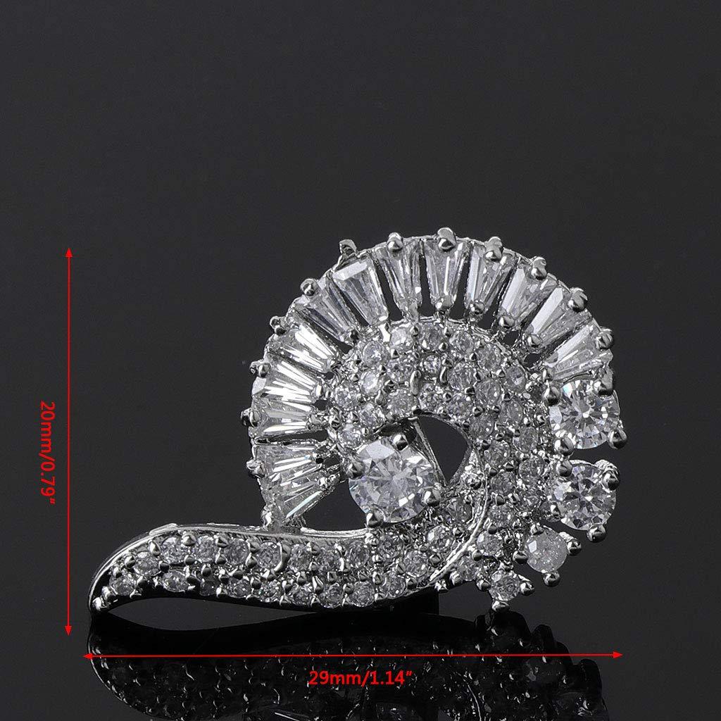 Yanhonin Rhinestones Clips De Chaussures Amovible Bijoux De Chaussures /Él/égante D/écorations Pour Chaussures