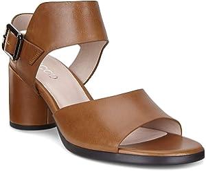 ECCO Women's Women's Shape 65 Block Heeled Sandal, Black, 36