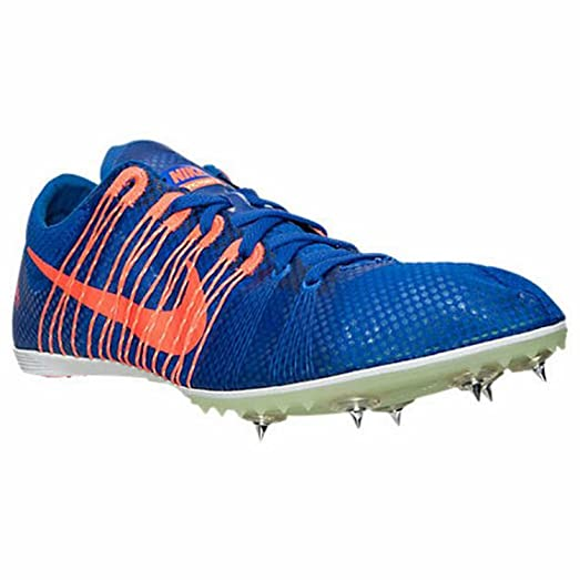 Nike Zoom Victory Distance Track Spikes Shoes Mens Size 11.5 Blue Orange