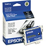 Epson T048120 Quick-Dry Ink, 450 Page-Yield, Black