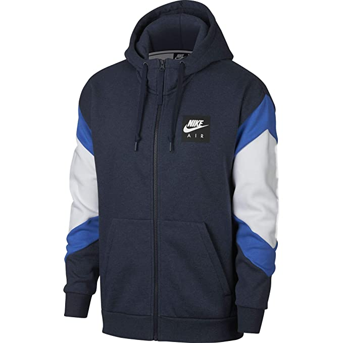 0eed4c506035 Nike Men s M NSW Air Hoodie Fz FLC Sweatshirt  Amazon.co.uk  Sports    Outdoors