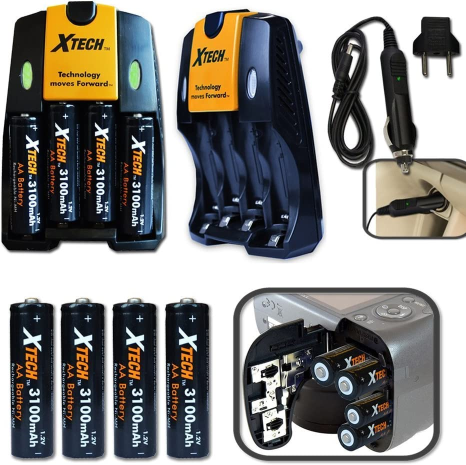 60 Inch Tripod Ultimate Accessory Kit for Nikon Coolpix L840 Digital Camera Includes: 32GB High Speed Memory Card Padded Case Charger 4 AA High Capacity 3100mAh Rechargeable Batteries More