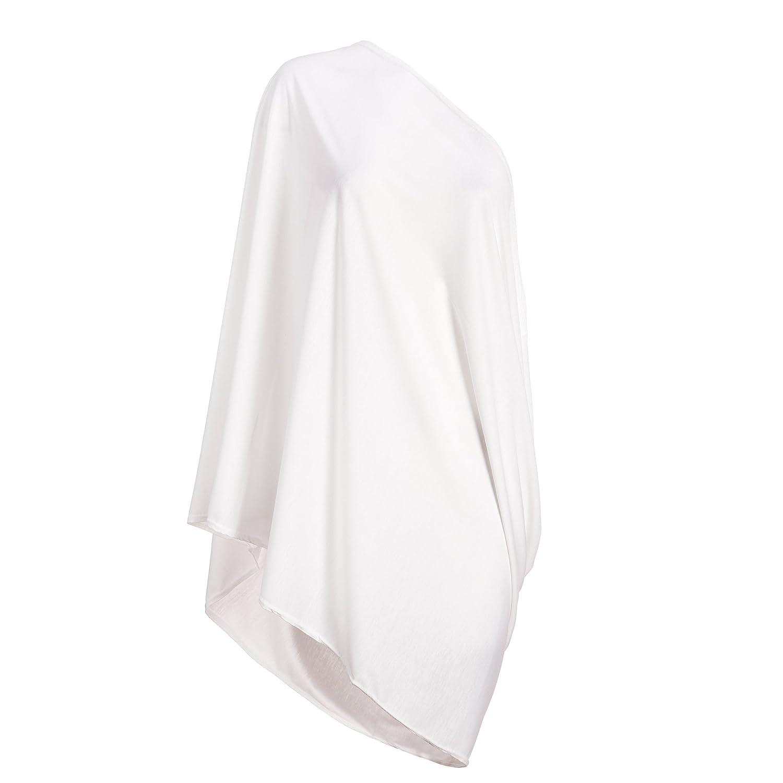 上品 Nursing Scarf Lightweight For Breastfeeding By Consider It It - Maid - Cotton & Polyester Blend, Soft, Lightweight & Breathable Material - Maximum Privacy - Modern, Stylish Design - White by Consider It Maid B01FWIC00M, 上質の北欧雑貨/ギフト すりーる:0de3c3f9 --- a0267596.xsph.ru