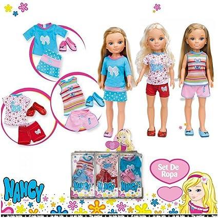 Amazon.es: Conjunto ropa y zapatos Nancy - surtido:modelos y colores aleatorios: Juguetes y juegos