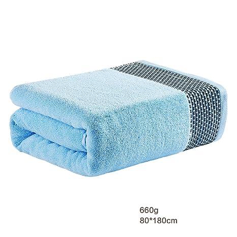 Toalla LINGZHIGAN baño de algodón Puro para Adultos Home Hotel Aumentar Engrosamiento baño Suaves absorbentes 80