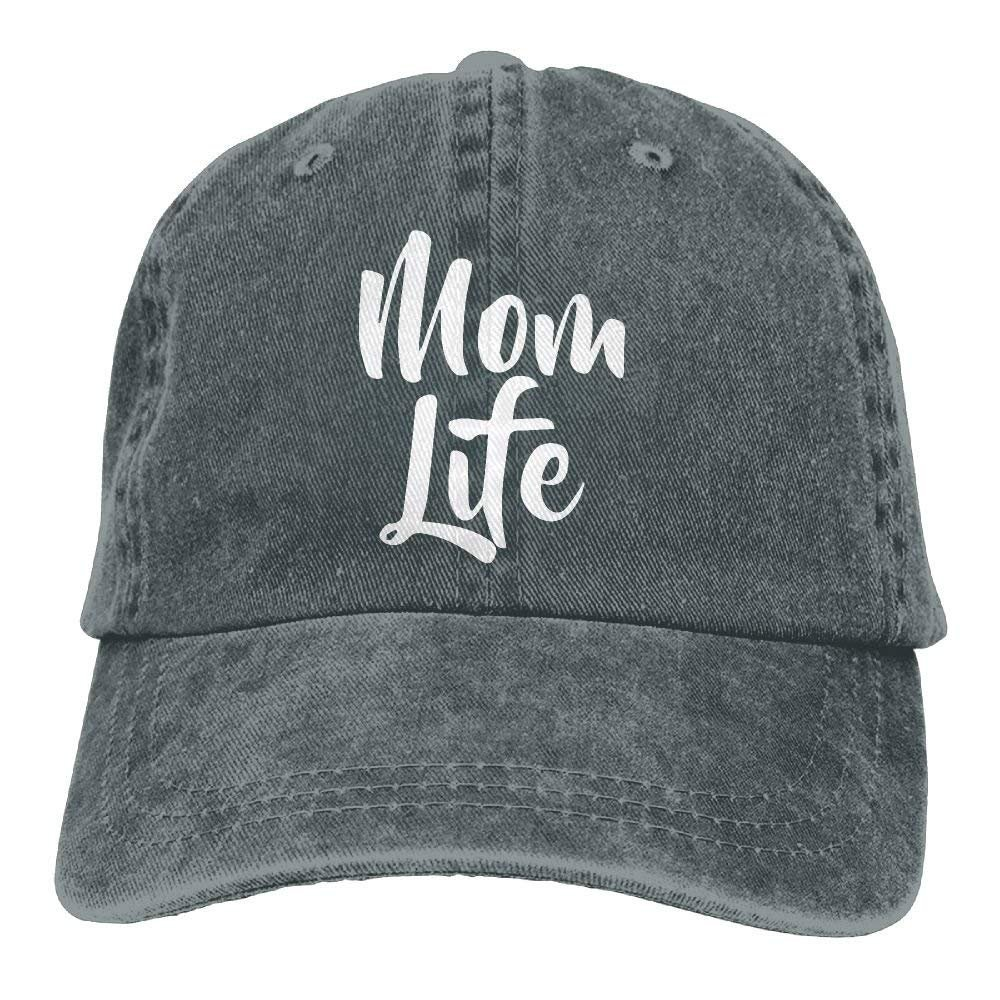 MNBHat Mom Life Adjustable Cotton Cap