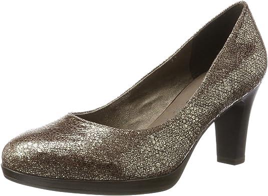 TALLA 37 EU. Tamaris 22410, Zapatos de Tacón para Mujer