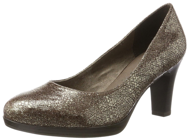 Tamaris 22410, Zapatos de Tacón para Mujer 37 EU|Marrón (Terra Struct)