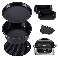 Non-Stick Bakeware Set Comapatible with Ninja Foodi Grill AG300/AG301/AG302/IG301/AG400 (5Sets)