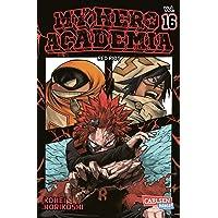 My Hero Academia 16: Die erste Auflage immer mit Glow-in-the-Dark-Effekt auf dem Cover! Yeah! (16)