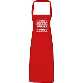Hippowarehouse This is My Ugly Christmas Jumper Apron - Various Colours
