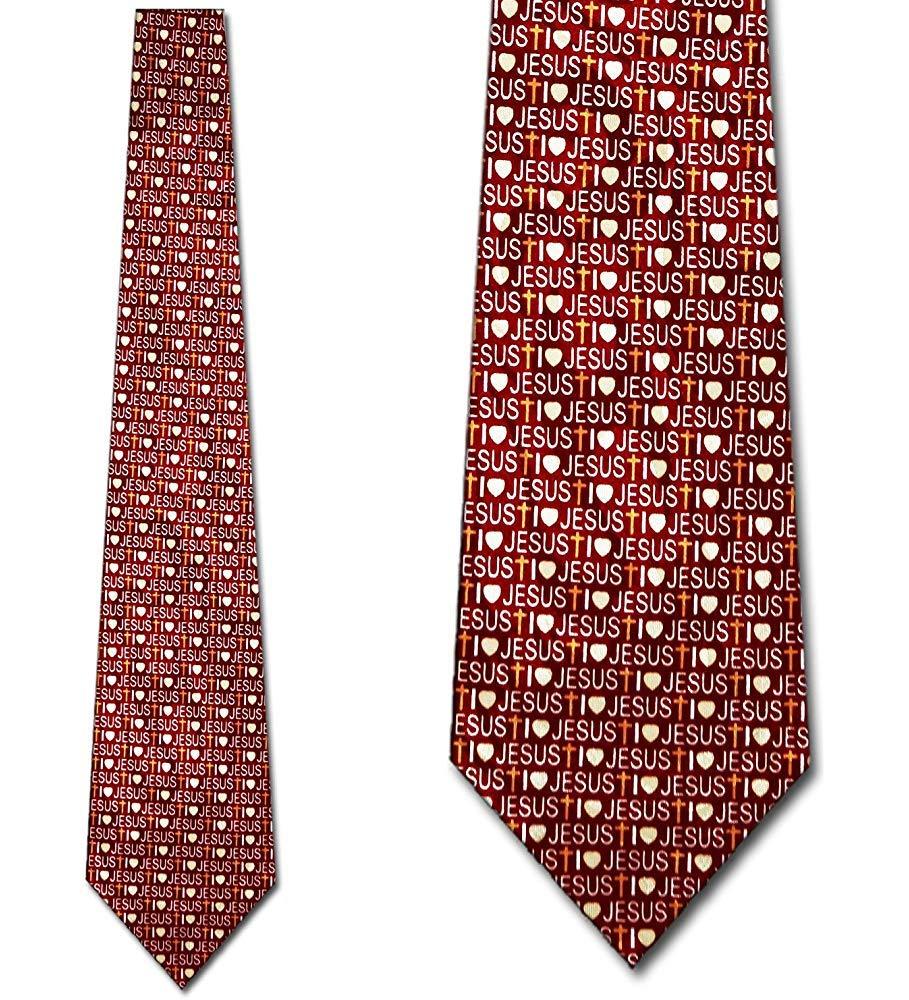 Corbata Corbatas De La Fe Corbatas Cristianas Corbata De Jesús ...