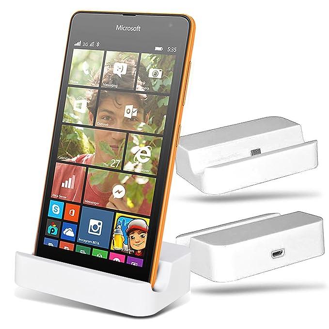 Microsoft Lumia 535 Micro USB base de carga cargador ...
