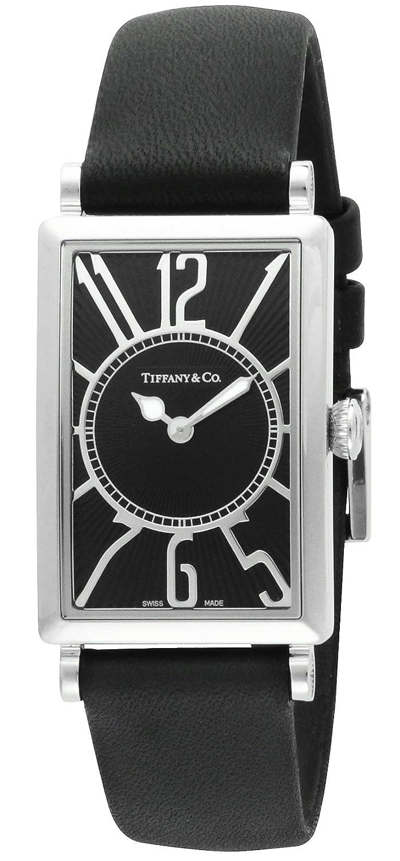 [ティファニー]Tiffany&Co. 腕時計 Gallery ブラック文字盤 Z3001.10.10A10A68A レディース 【並行輸入品】 B00IVPFXEY