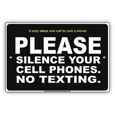 Amazon.com: Por favor Silencio sus películas Silent Cell ...