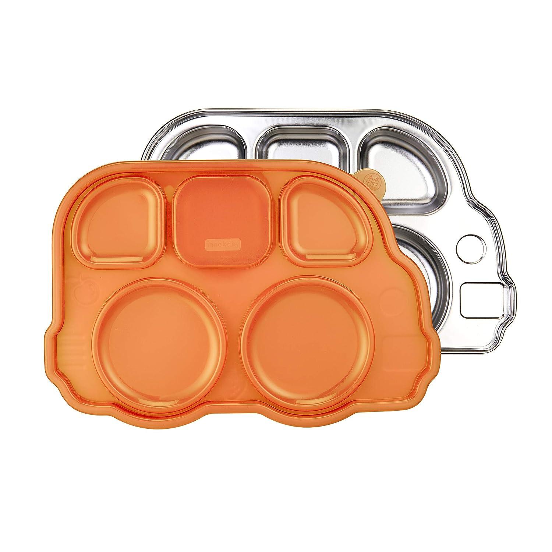 【格安saleスタート】 Din Innobaby Din Stainless Smart Stainless Bus Din Platter with Lid/orange by Innobaby B01KHQF8VM, 飛騨高山のふとん屋:343b5aaf --- a0267596.xsph.ru