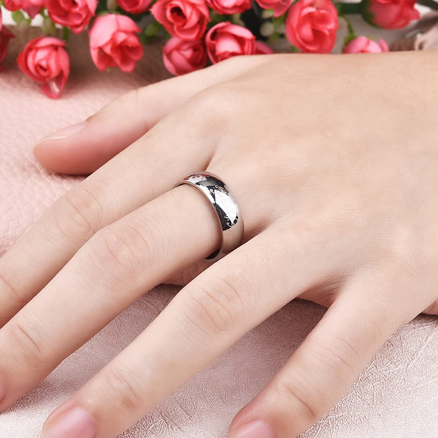 Dalaran Stainless Steel Rings for Men Women The Lords of the Rings ...