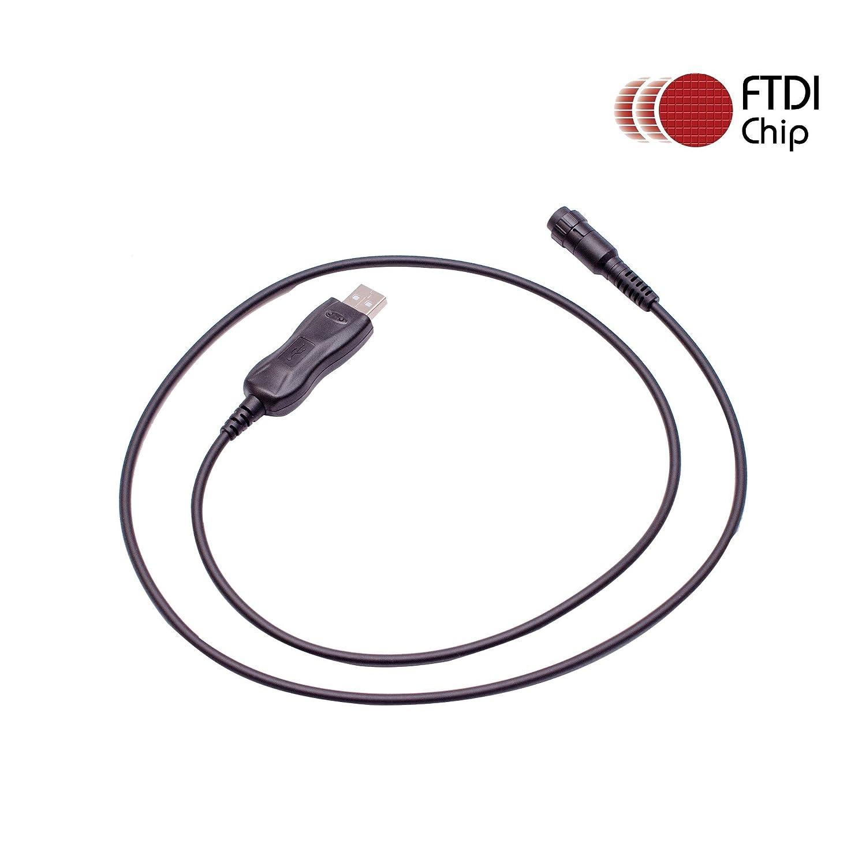Maxtop APCUSB-YM134 FTDI USB Programming Cable for Yaesu VX