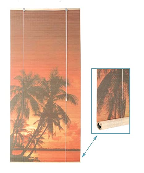 Sunset Canvas Print Room Divider Roller Screen Blind Amazoncouk