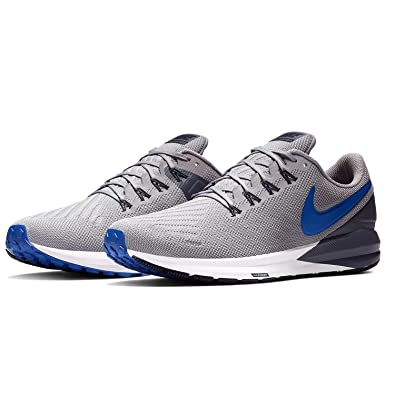 low priced a69e1 7a626 Nike Air Zoom Structure 22, Chaussures de Running Compétition Homme,  Multicolore (Atmosphere Grey