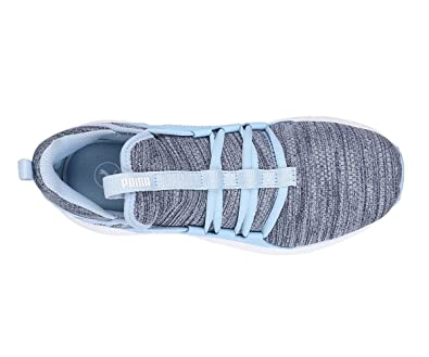 4bb7e51f1b9428 Puma Mega NRGY Heather Knit WNS Blue  Buy Online at Low Prices in India -  Amazon.in