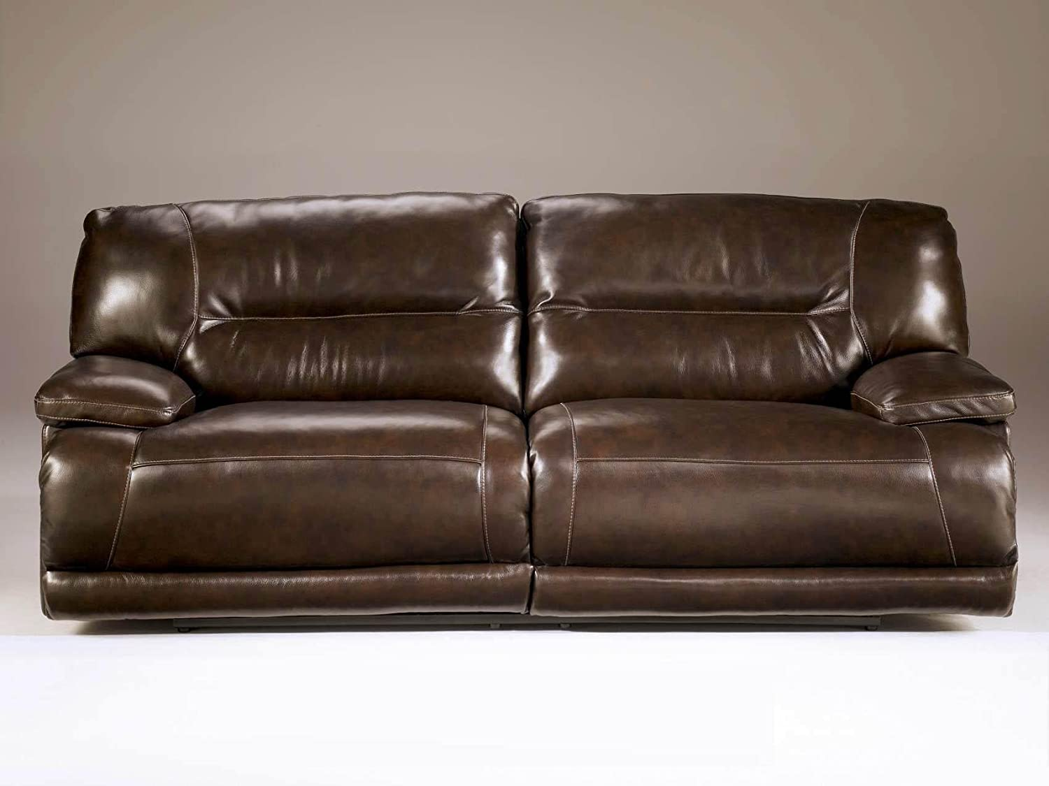 Amazon.com Ashley Furniture Signature Design - Exhilaration Recliner Sofa - Power Reclining Couch - Chocolate Brown Kitchen u0026 Dining & Amazon.com: Ashley Furniture Signature Design - Exhilaration ... islam-shia.org