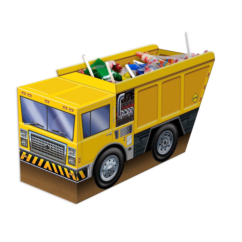 Beistle B59975 3-D Dump Truck Party Centrepiece