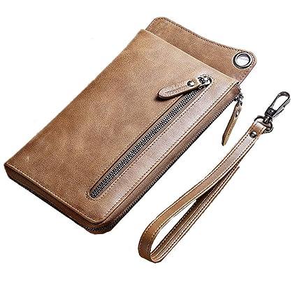 chercher offre Pré-commander Porte-monnaie pour homme Sac à main en cuir Buckle sac à ...