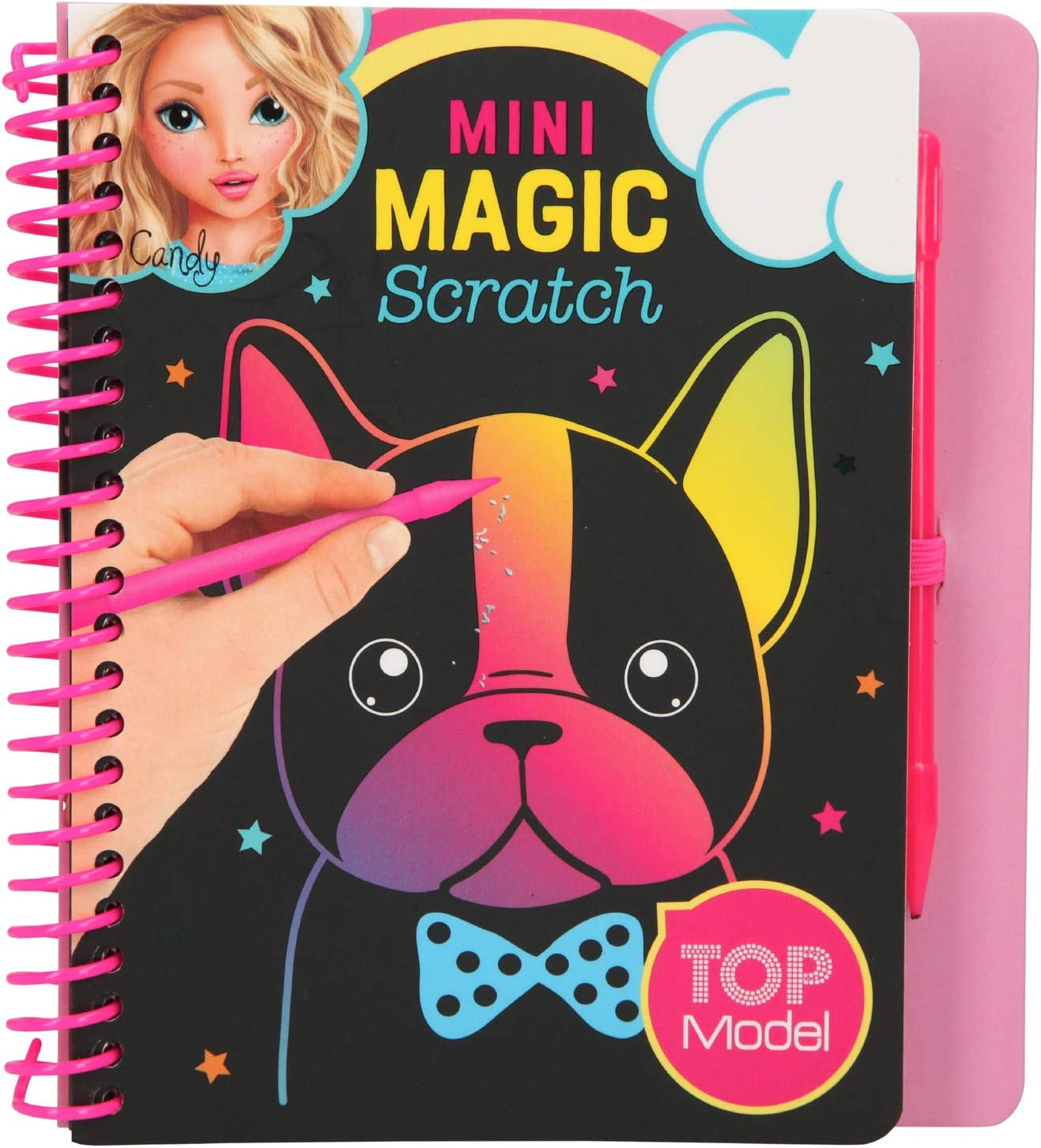 Depesche 10708 Mini Magic Scratch Book - Libro para Colorear