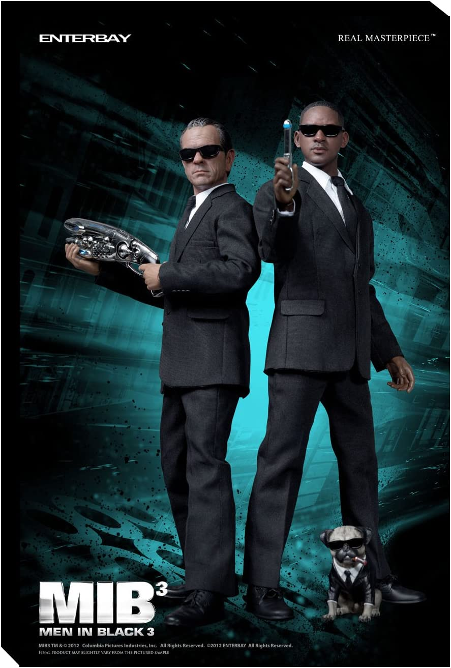 Real Master Piece Men In Black 3 Agent J Agent K Set Of 2 Amazon Co Uk Toys Games