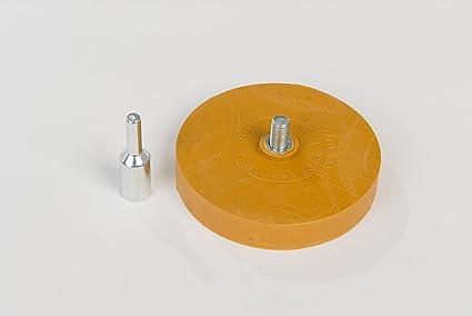 Folienradierer Inkl Adapter Für Alle Handelsübliche Bohrmaschinen Akku Schrauber Geradschleifer Geeignet Zierfolien Aufkleber Und