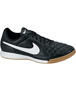 Nike Mens Tiempo Genio Leather (IC) Indoor-Competition Soccer Shoe