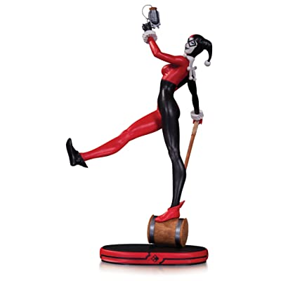 DC Collectibles DC Comics Cover Girls: Harley Quinn Statue: Toys & Games