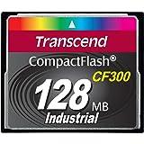 Transcend 128MB CF300 0.125GB CompactFlash SLC memory card - memory cards (CompactFlash, -25 - 85 °C, Black, -40 - 85 °C, 0 - 95%, SLC)