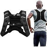 Aduro Sport Weighted Vest Workout Equipment, 4lbs/6lbs/12lbs/20lbs/25lbs/30lbs Body Weight Vest for Men, Women, Kids