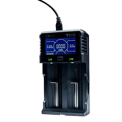 Amazon.com: Cargador de batería universal, allmaybe TC2 ...