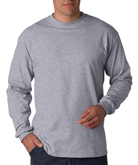 651a880fdac870 Hanes Beefy-T Men`s Long-Sleeve T-Shirt | Amazon.com