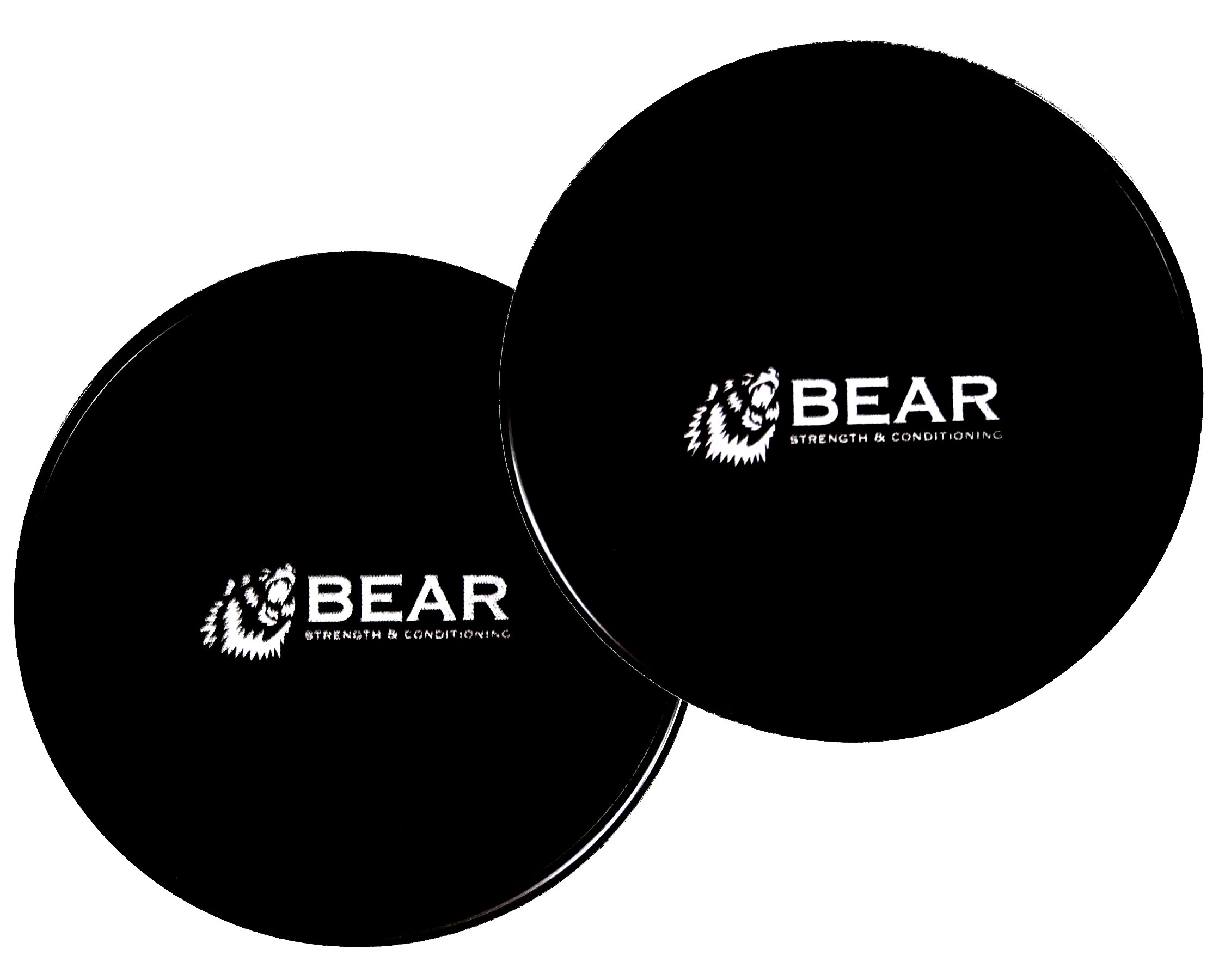 BEAR Core Slider For Abdominal Ab Training and Pilates (Pair)