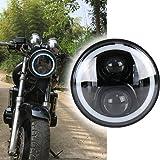 XPLIGHT VTR250 ヘッドライト LED 7インチ ヘッドライト DRL機能付き 車検対応 防水 CB400 CB600 CB750 CB1300 CB1100ために