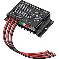 HUINE 20A 12V 24V Auto IP68 Waterproof PWM Solar Charge Controller Solar Panel Battery Intelligent Regulator for Solar…