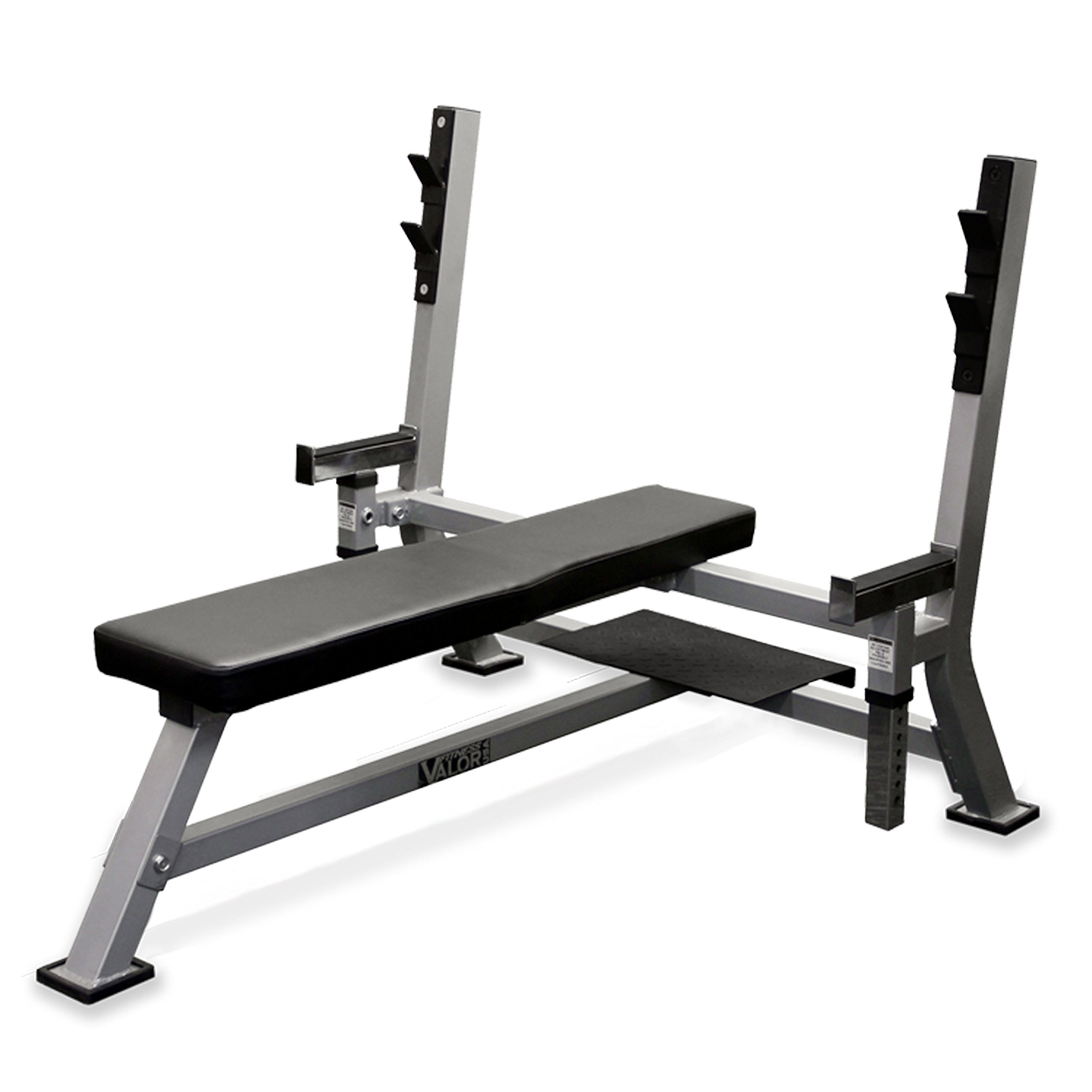 Valor Fitness BF-48 Olympic Bench Pro with Spotter by Valor Fitness