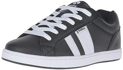 Osiris Men's Loot Skateboarding Shoe, Black/White/White, ...