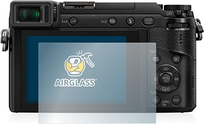 brotect Glass Screen Protector compatible with Panasonic Lumix DMC-LX100 9H Glass Protector AirGlass