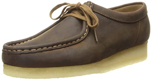 Clarks Women's Wallabee Chukka Boot, Beeswax Leather, ...
