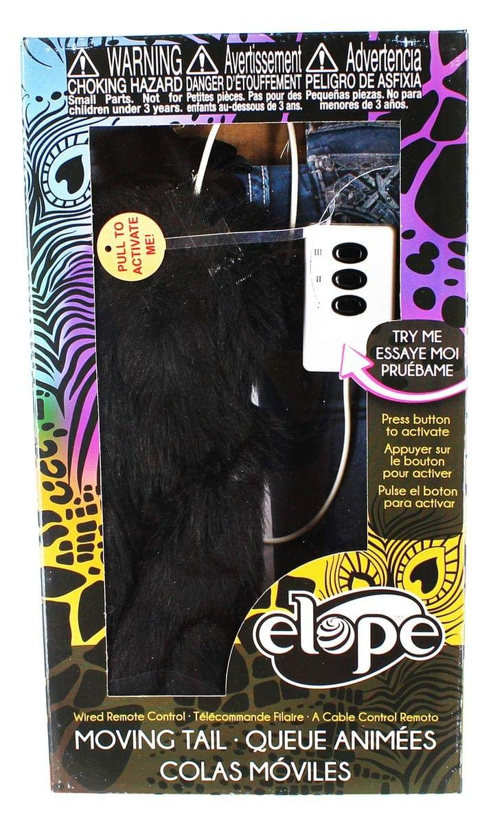 Moving Cat Tail Adult Costume Accessory Elope 618480024968