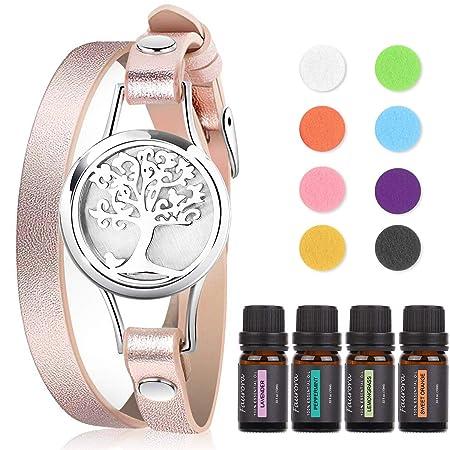 Faurora Essential Oil Bracelet Gift Set