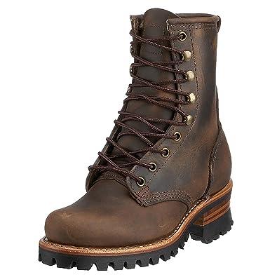 Frye Women's Logger 8G Boot Tan 5.5 ...