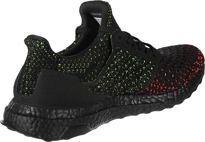 adidas Ultra Boost Clima Core Black/Solar Red ... - Amazon.com